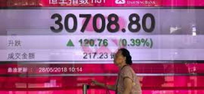 Asian shares advance as markets mull North Korea, Italy, oil