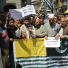JKLF stages protest against 'unabated killings'