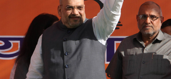Shah blames 'PDP's failure' for BJP's pull-out