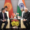 Modi holds bilateral talks with presidents of Kazakhstan, Kyrgyzstan and Mongolia