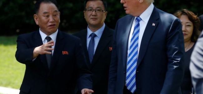 Trump meets N Korean envoy, confirms Singapore Summit on June 12