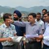 'Div Com Jammu visits JU Satellite Campus: inspects construction work
