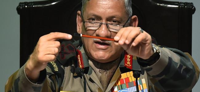 Turn secular, Army chief Bipin Rawat tells Pakistan