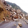 Fresh landslide disrupts traffic on Sgr-Jmu highway