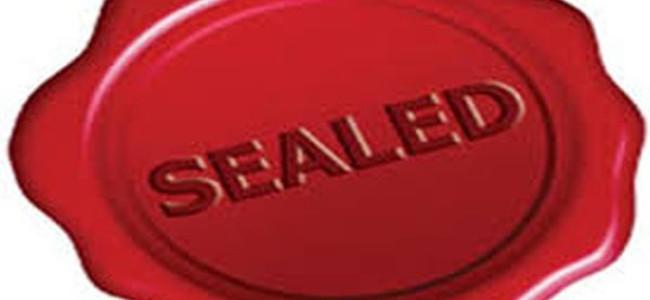 Ultrasound clinic of Kidney Hospital Sonwar sealed