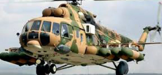 Pak chopper violates Indian airspace