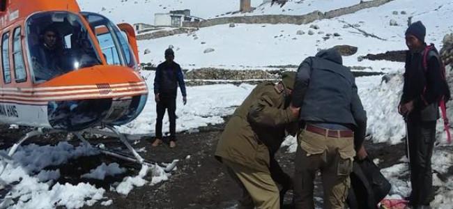 Over 60 stranded people rescued in Jammu and Kashmir's Kargil district