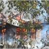 LPG cylinder burst causes massive fire in Karnah