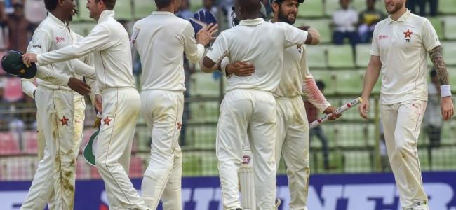 Zimbabwe thrash Bangladesh for long-awaited Test win