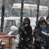 Little bit snow turns Kashmir topsy-turvy
