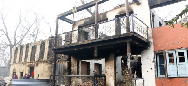POST ENCOUNTER: Remains of the house at Batagund...