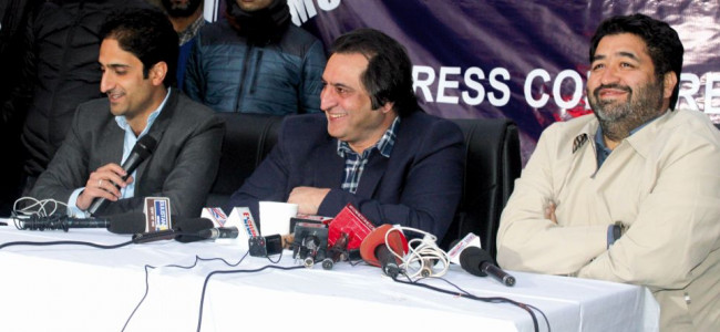 Congress party mother of all ills in Kashmir: Sajad Lone