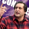 Why is Omar hiding behind Ram Madhav: Sajad Lone