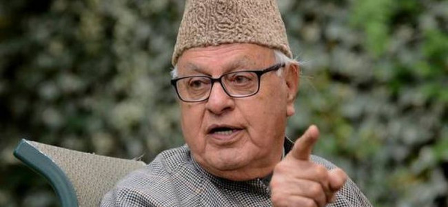 EVM is chor machine: Farooq Abdullah