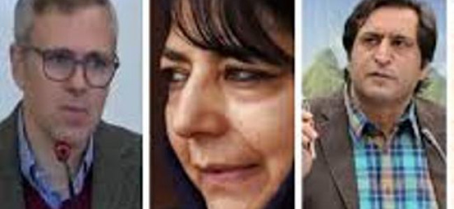 Omar, Mehbooba, Sajad placed under house arrest