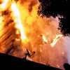 Five shops gutted in Uri fire incident