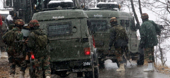 3 militants killed in Shopian encounter, soldier injured