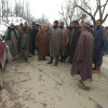 Shopian villages stage protest against PHE