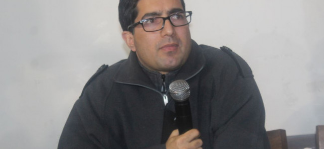 Ready to contest polls, Shah Faesal not to join any political party 'soon'