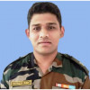 Floral tributes paid to officer killed in mine explosion along LoC