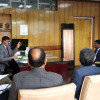 Kumar interacts with Conservators of Forest