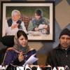 Governor implementing BJP's 'hideous agenda': Mehbooba