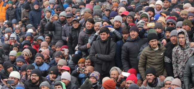 Protests continue in Kargil