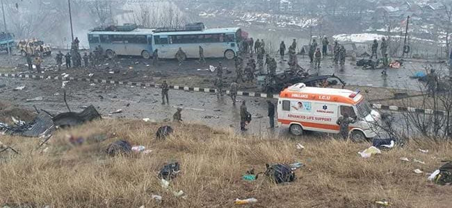 Centre denies intelligence failure in Pulwama suicide attack