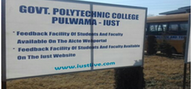 Whose baby is Government Polytechnic College Pulwama?