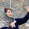 Chocking political space is GoI's new Kashmir policy: Mehbooba