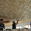 KHATAMBAND-The Art of intricately carved ceilings in Kashmir