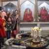 Kashmiri Pandits thronged various Temples in Kashmir valley…