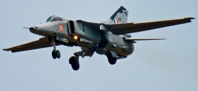 IAF's MiG 27 aircraft crashes near Jodhpur