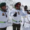 Northern army commander visits forward position in Siachen sector