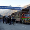Pak hopes early resumption of cross-LoC trade