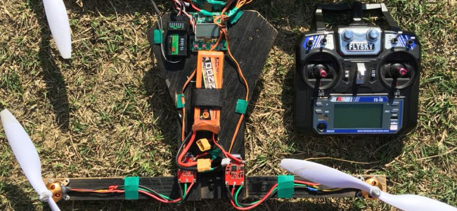 Student develops 'drone' which can 'fly up to 150 meters'
