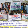 Cross LoC traders protest trade suspension