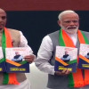BJP releases manifesto; says committed to abrogate Article 35A, 370