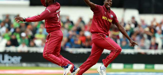 WI pulverise Pak by seven wickets at Trent Bridge