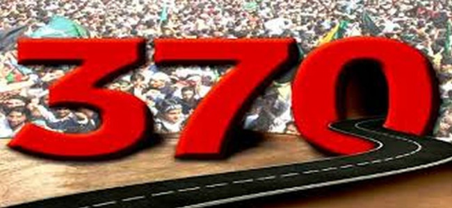 Article 370- a bridge between India and the state of J&K