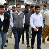 DDC takes stock of facilities at newly constructed Bus Yard in Ganderbal town