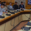 Div Com reviews arrangements for Mela Kheer Bhawani