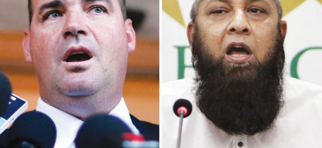 PCB reiterates support for Inzamam and Mickey Arthur