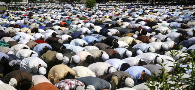 Jumat-ul-Vida, the last Friday of Ramazan was observed with religious fervour across Kashmir...