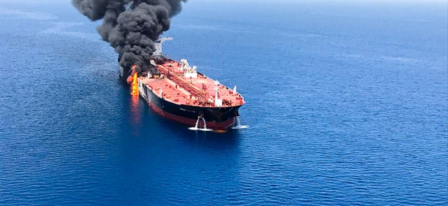 EU states cool on US blaming Iran for Gulf tanker attacks