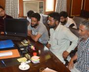 30 delegations, individuals meet Skandan at Srinagar