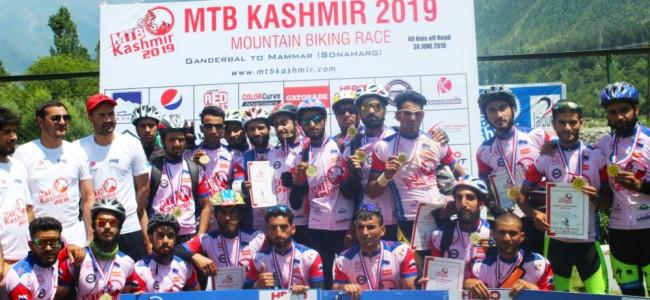 Akbar Khan is champion MTB Kashmir-2019
