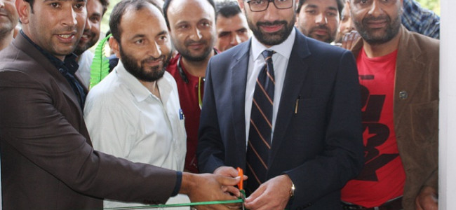 DC Pulwama inaugurates Press Club for working Journalists