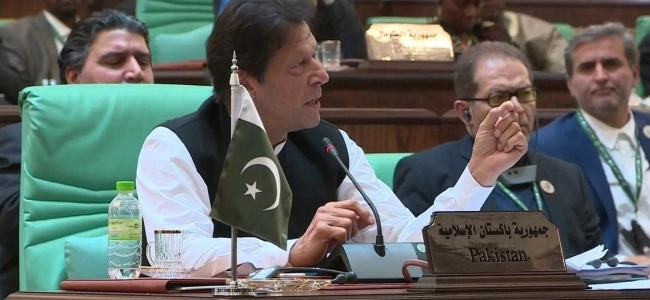Kashmiris must be given right to self-determination: Pak PM at OIC summit
