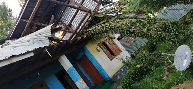 Cloudburst wreaks havoc in Sopore villages